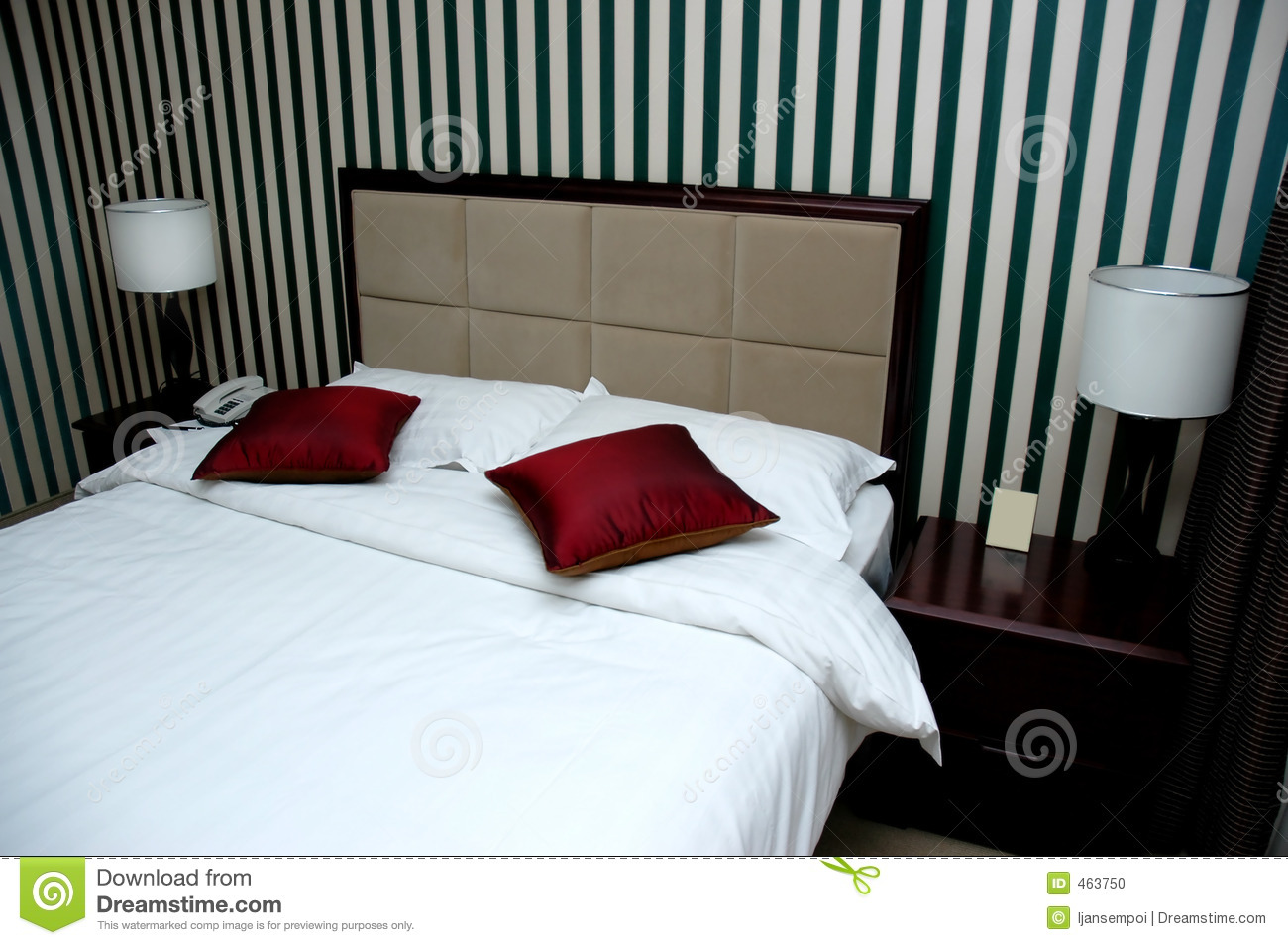 Hotel bed room stock photo image 463750 - Bed room photo ...