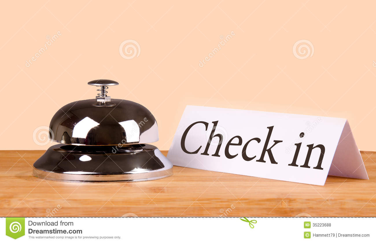 Hotel bell check in stock photo image of reception for Last minute design hotel