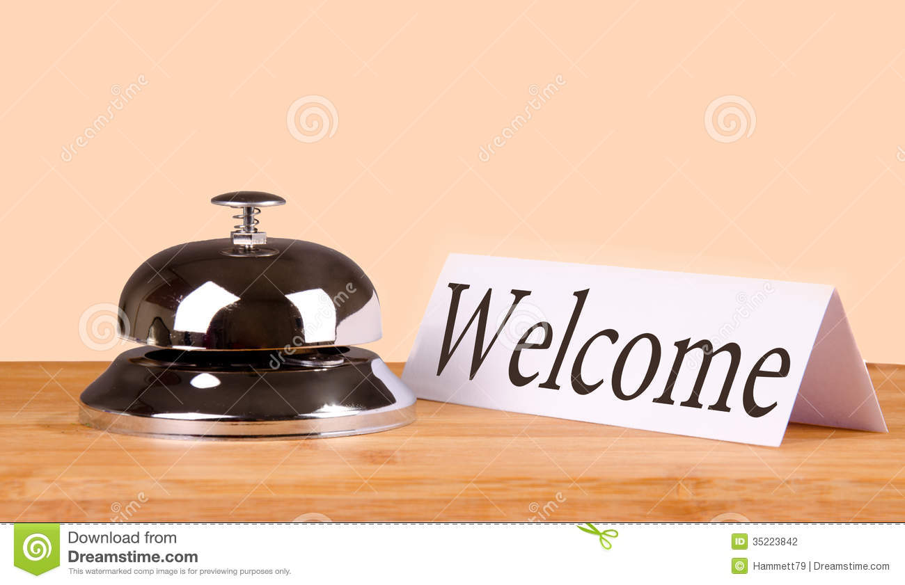 Hotel Bell Welcome Stock Photo Image Of Assistance Ring