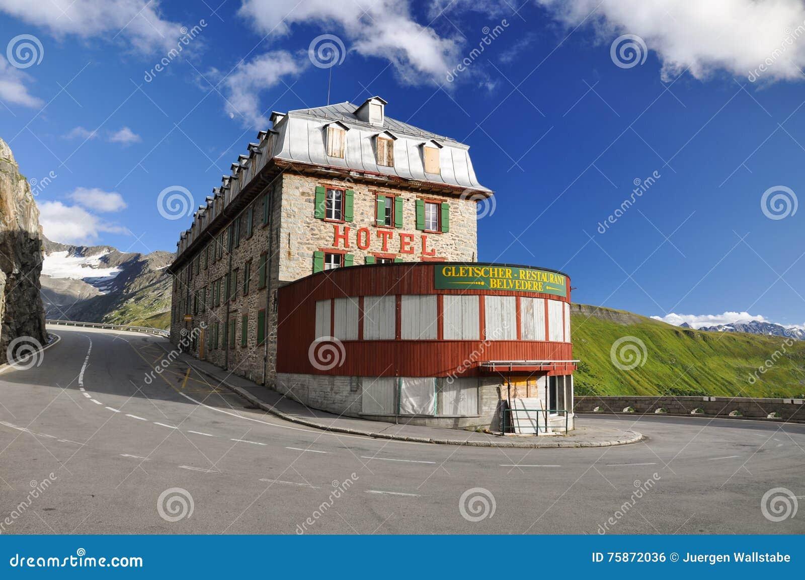 gletscher belvedere hotel switzerland