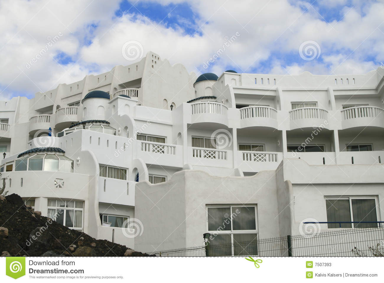 Hotel in canary tenerife stock photos image 7507393 for Hotel design canaries