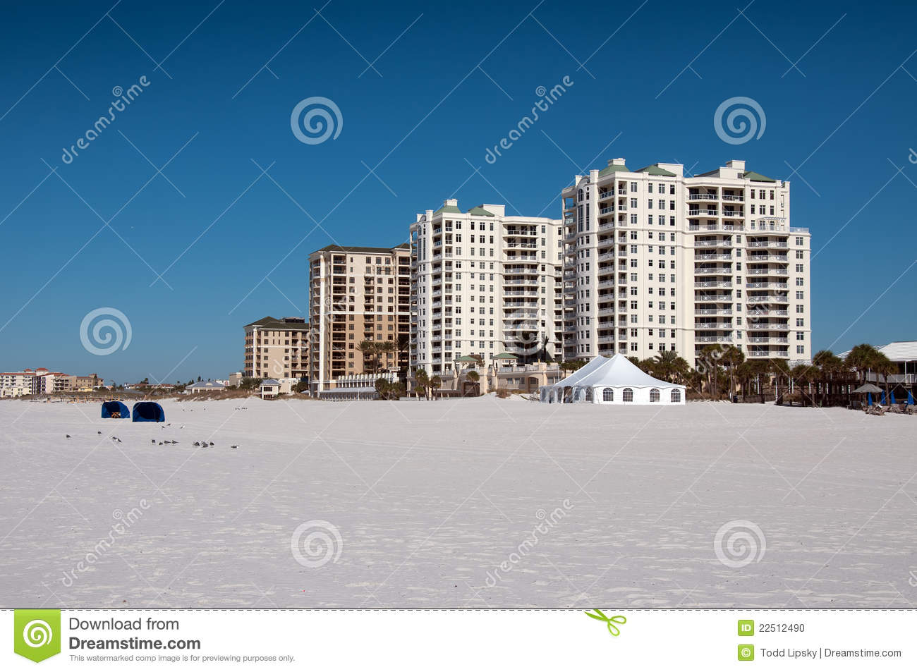 Hotel am Clearwater Strand