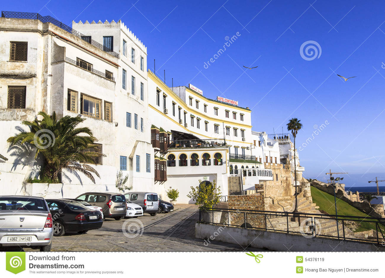 Hotel continental in chefchaouen morocco editorial stock for Continental centre hotel
