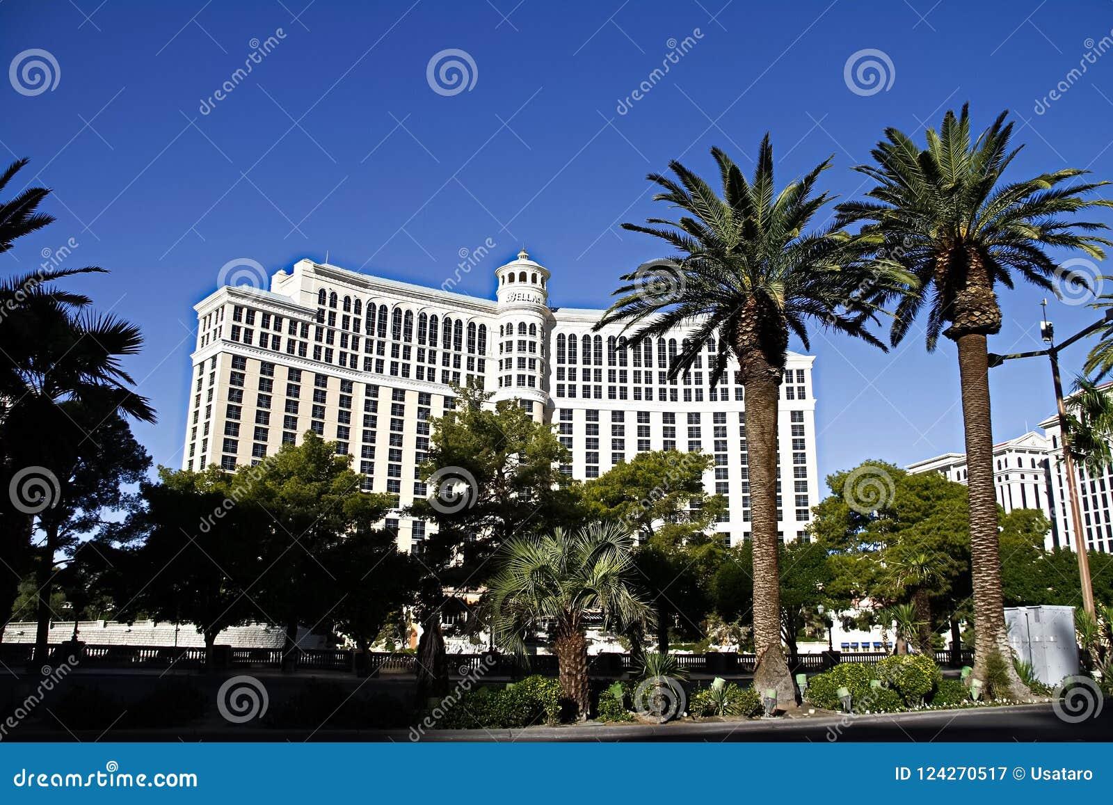 Hotel de Bellagio en Las Vegas