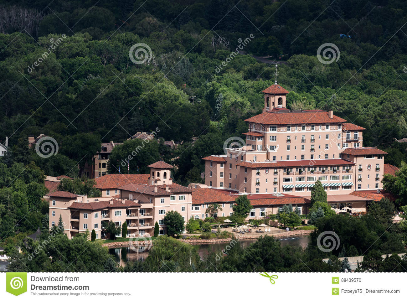 Hotel de Broadmoor e recurso Colorado Springs