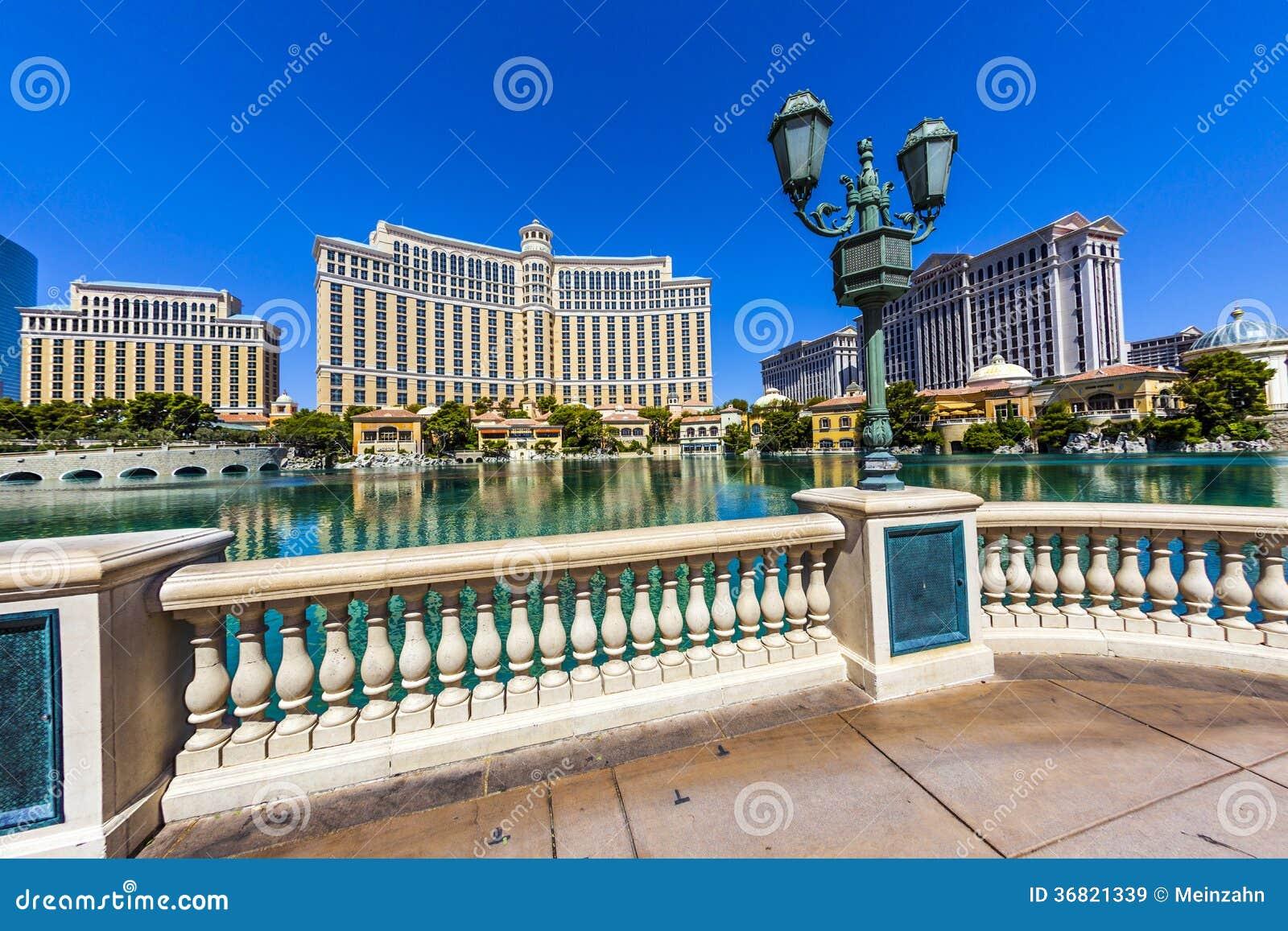 Hotel de lujo bellagio en las vegas imagen de archivo - Hotel de lujo en granada ...