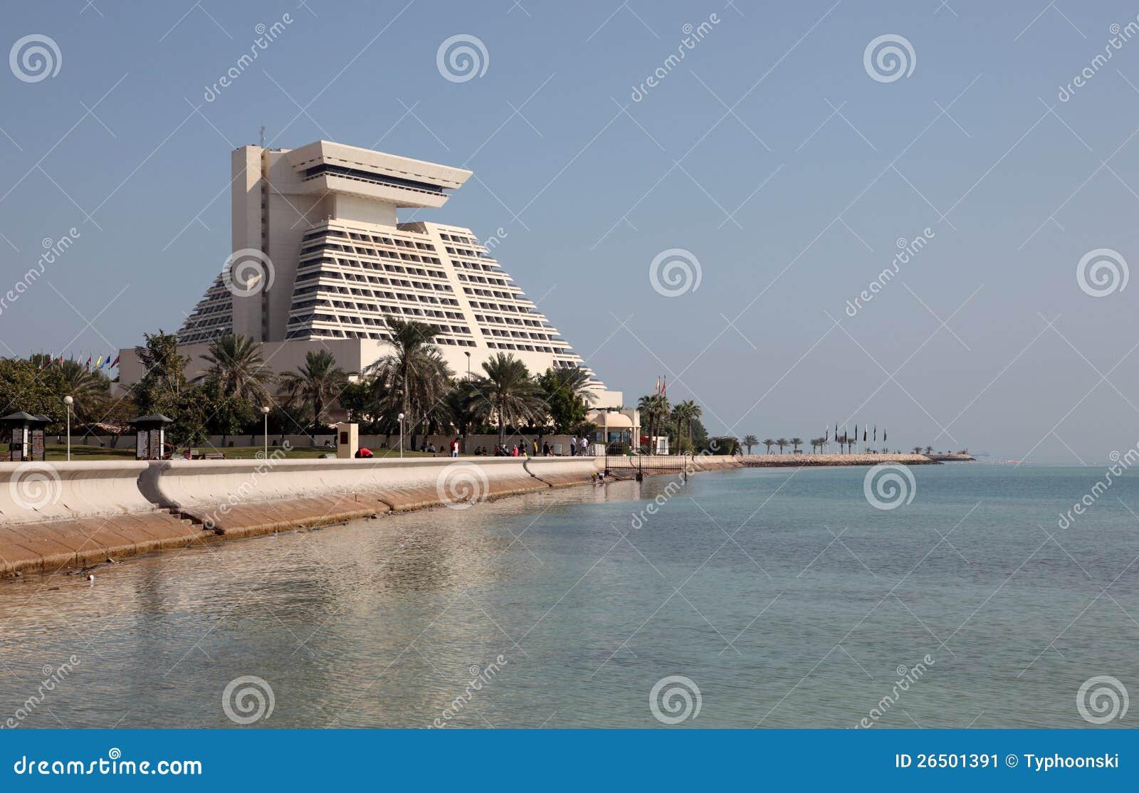 Hotel de Sheraton em Doha. Qata