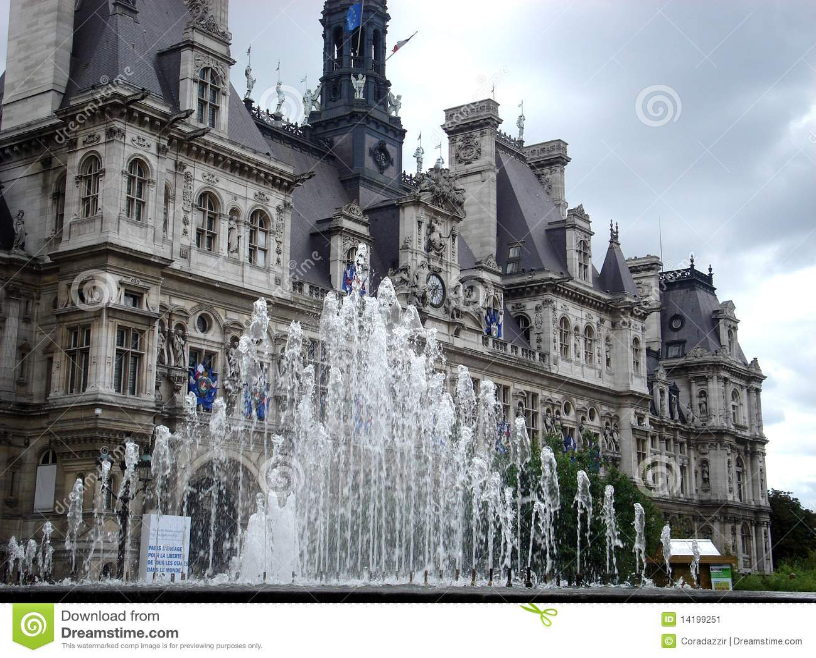 Hotel De Ville Stock Image Image 14199251