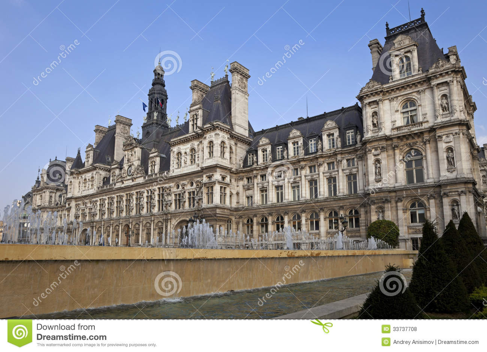Hotel De Ville Royalty Free Stock Photos Image 33737708
