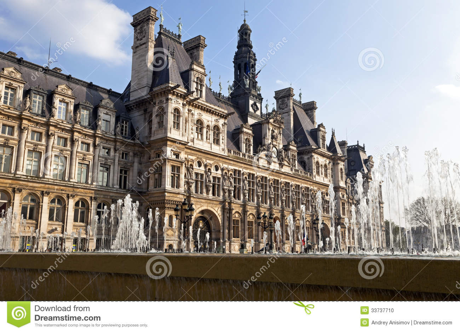 Hotel De Ville Stock Photo Image 33737710