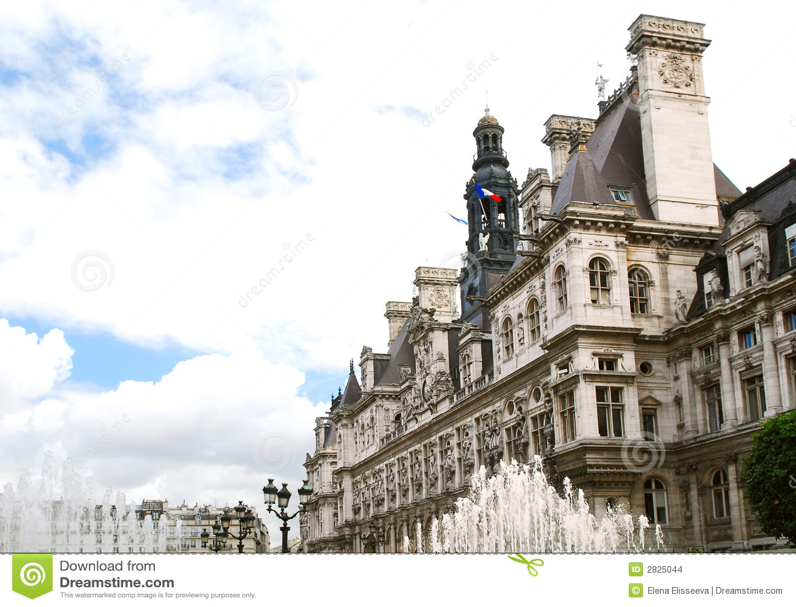 Hotel DE Ville in Parijs