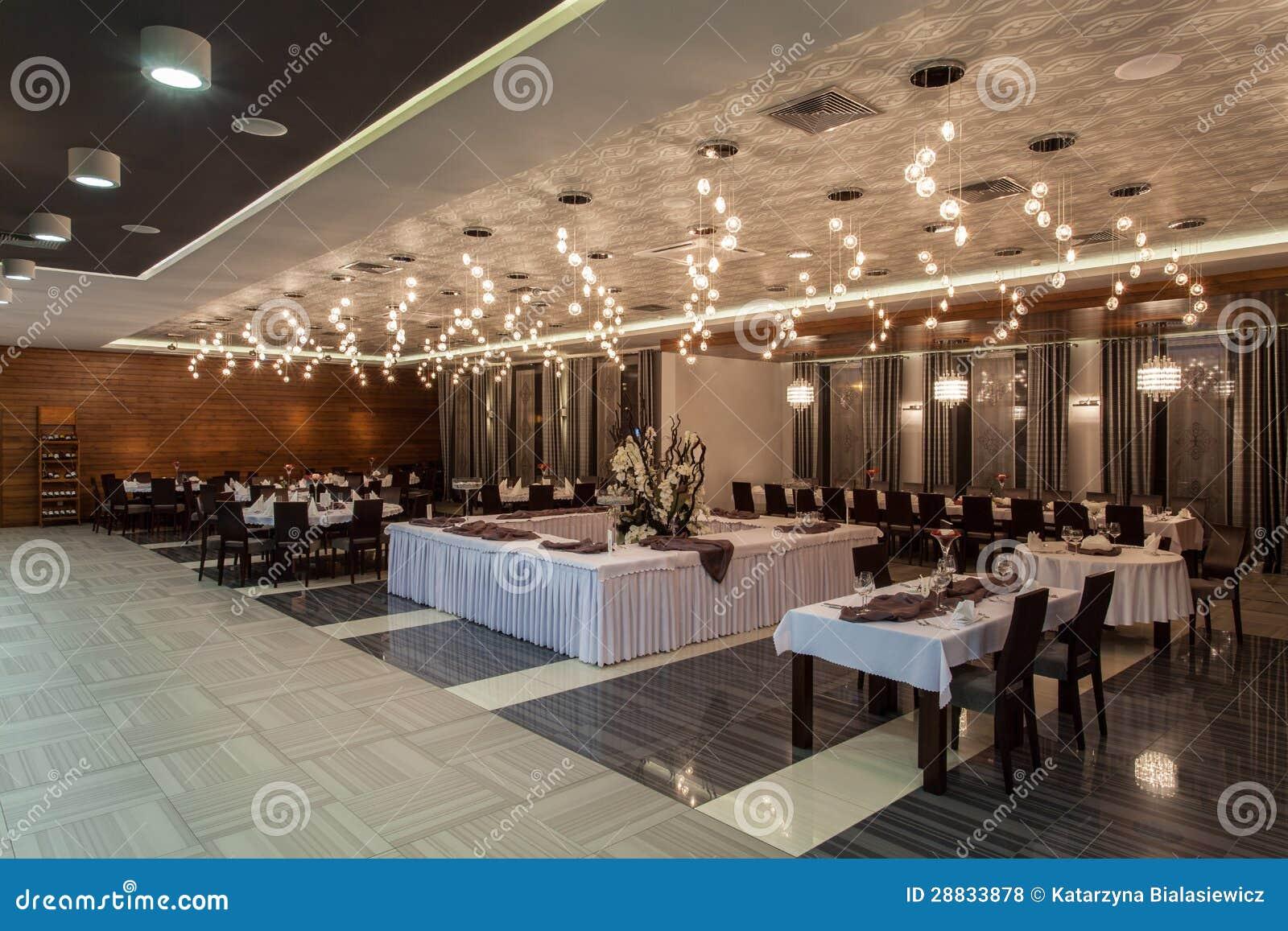 Hotel del arbolado - comedor en un hotel