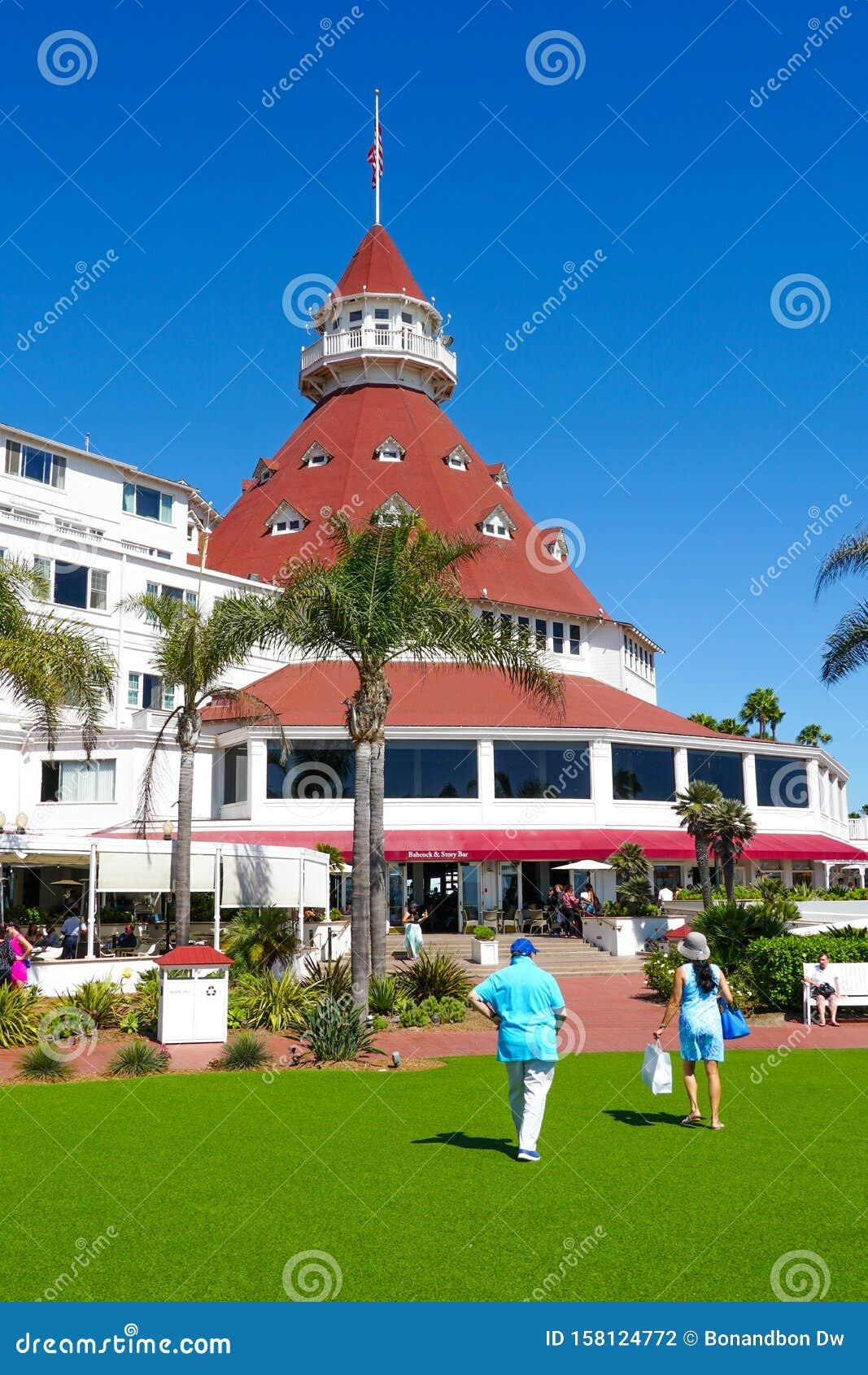 Hotel Del Coronado, San Diego, California Editorial
