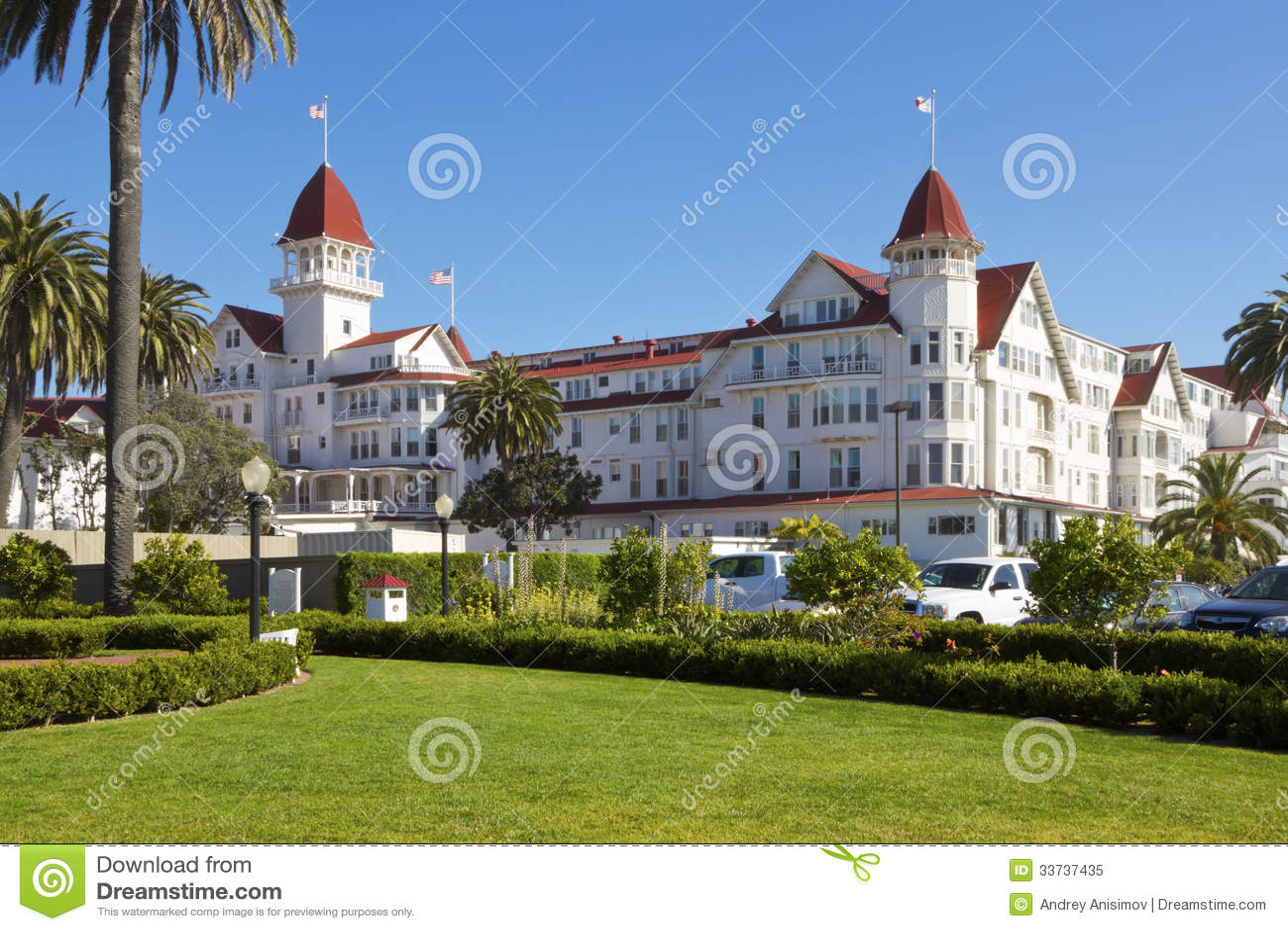 Hotel Del Coronado in San Diego, California, USA