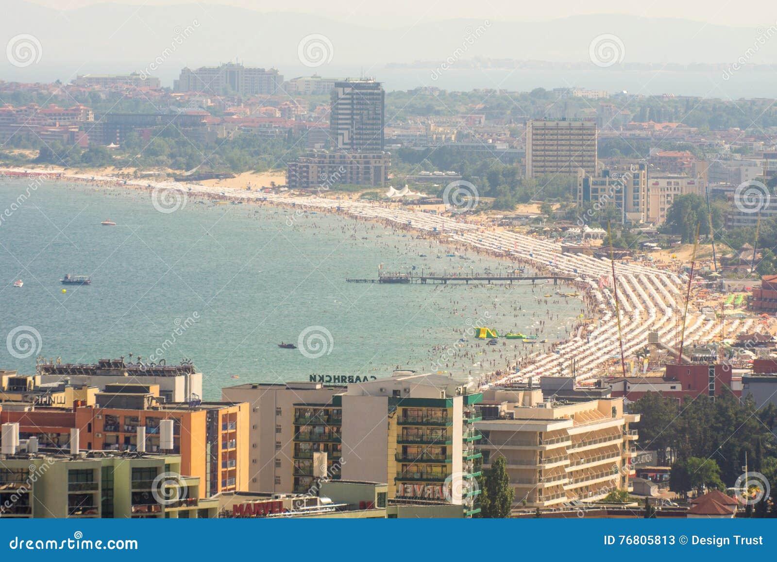 Hotel E Località Di Soggiorno Di Spiagge Di Sunny Beach In ...