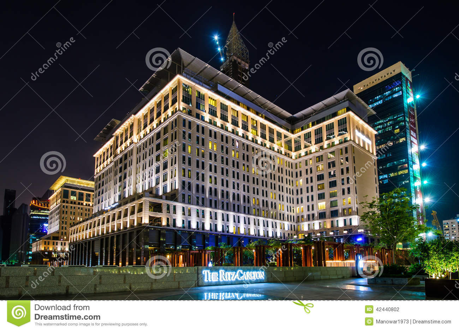 Hotel en DIFC, UAE de Ritz-Carlton