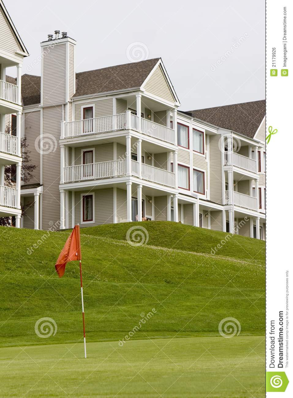 Hotel with Golf Course