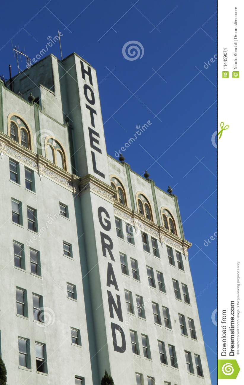 Hotel Grand Editorial Stock Image Image Of Wales Florida 114439074