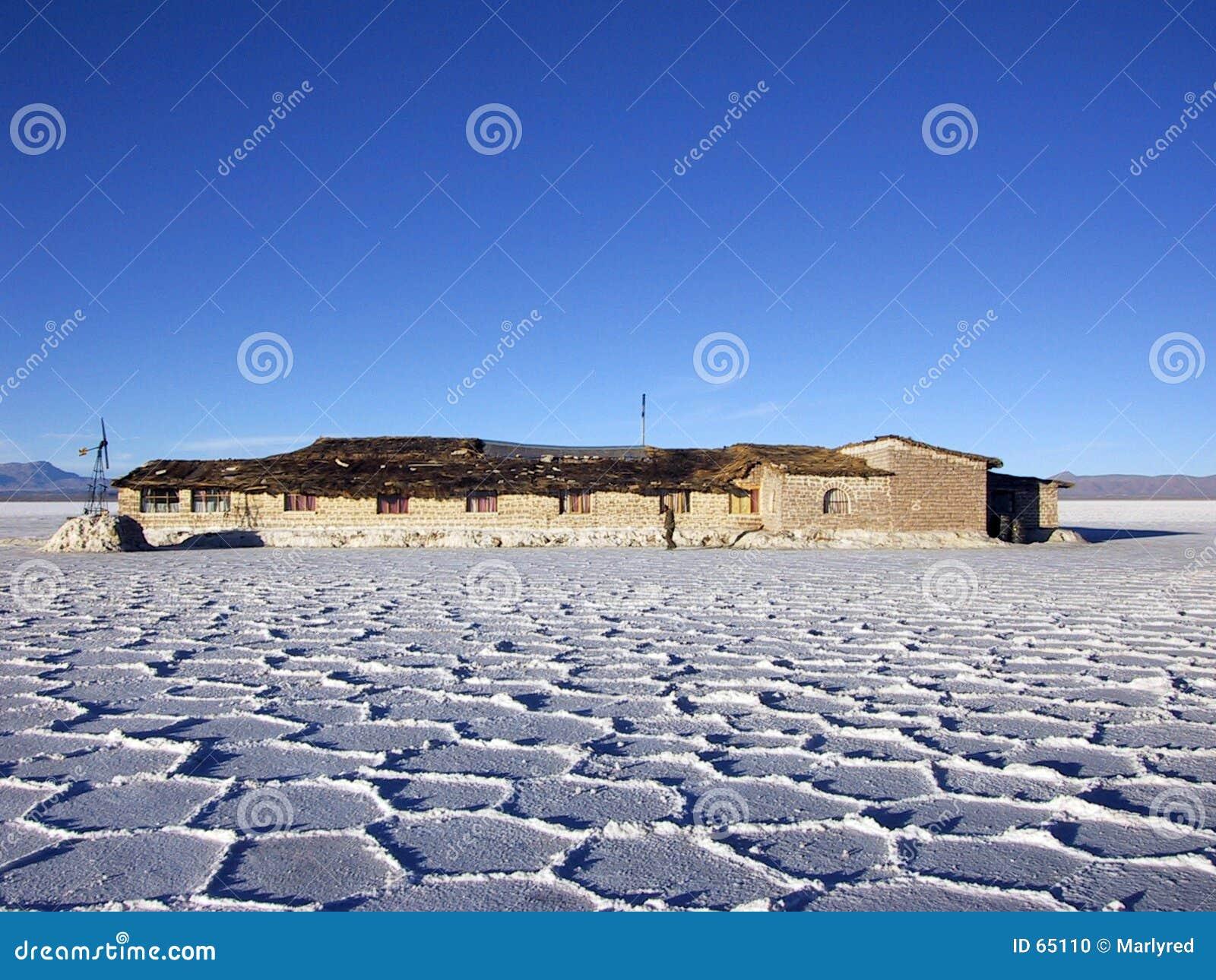 Hotel hecho de la sal