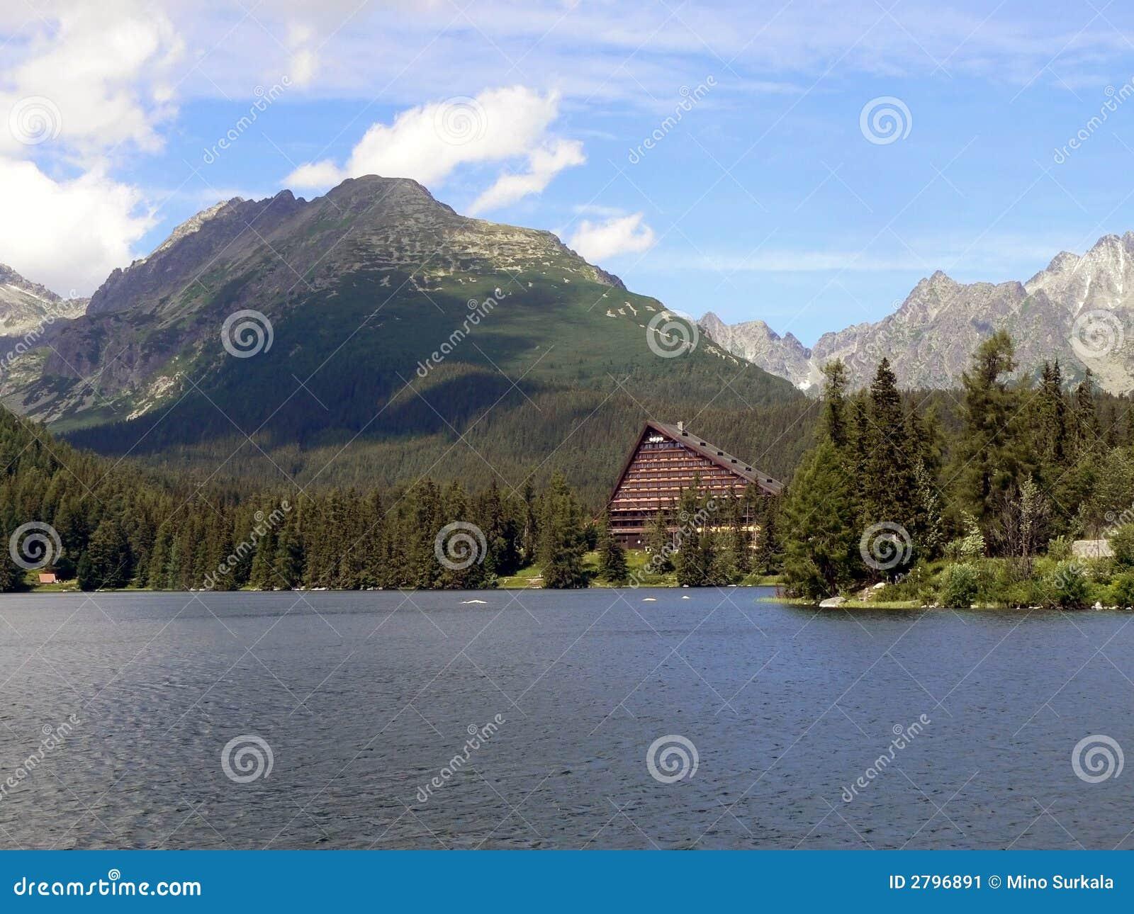 Hotel im hohen Tatras