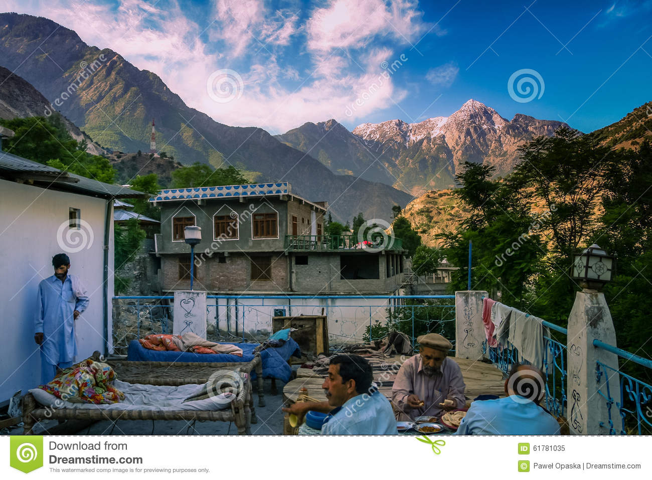 Hotel in karakorum mountains editorial image image 61781035 for The terrace group