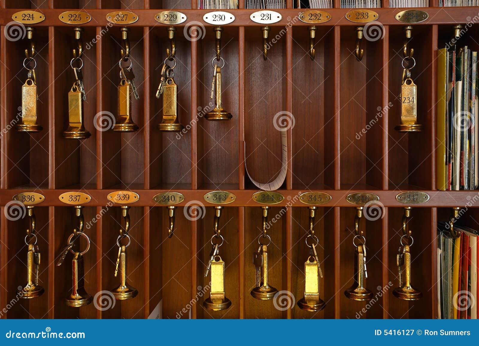 Hotel keys stock image image of vintage bronze rack 5416127 - Vintage hotel key rack ...