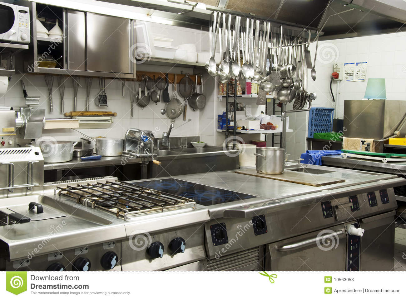 Hotel Kitchen Is