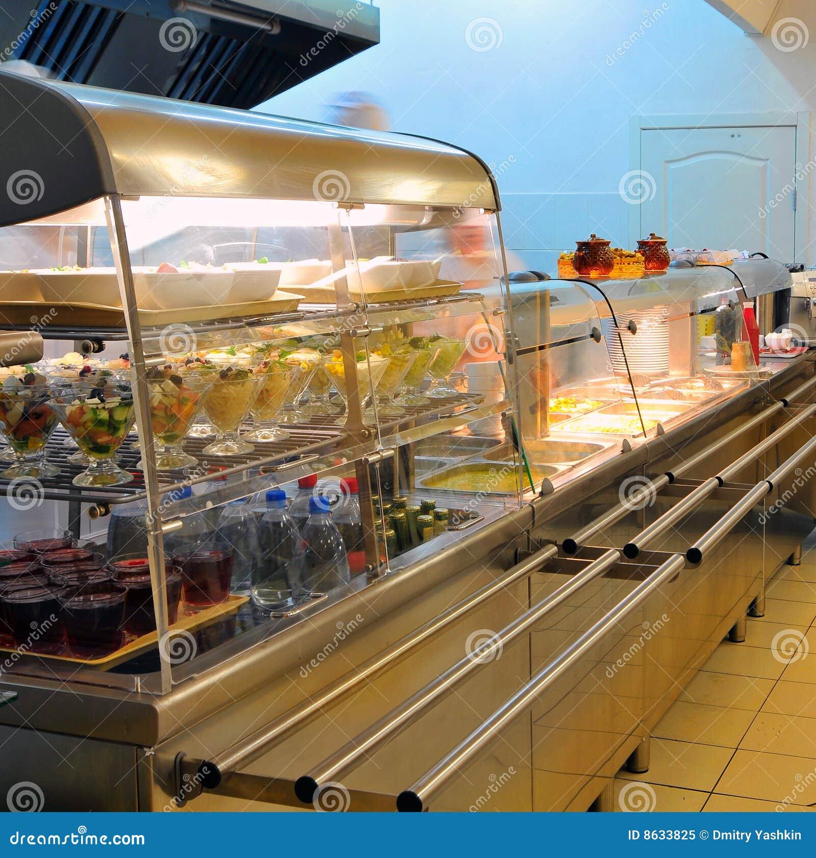 Hotel kitchen