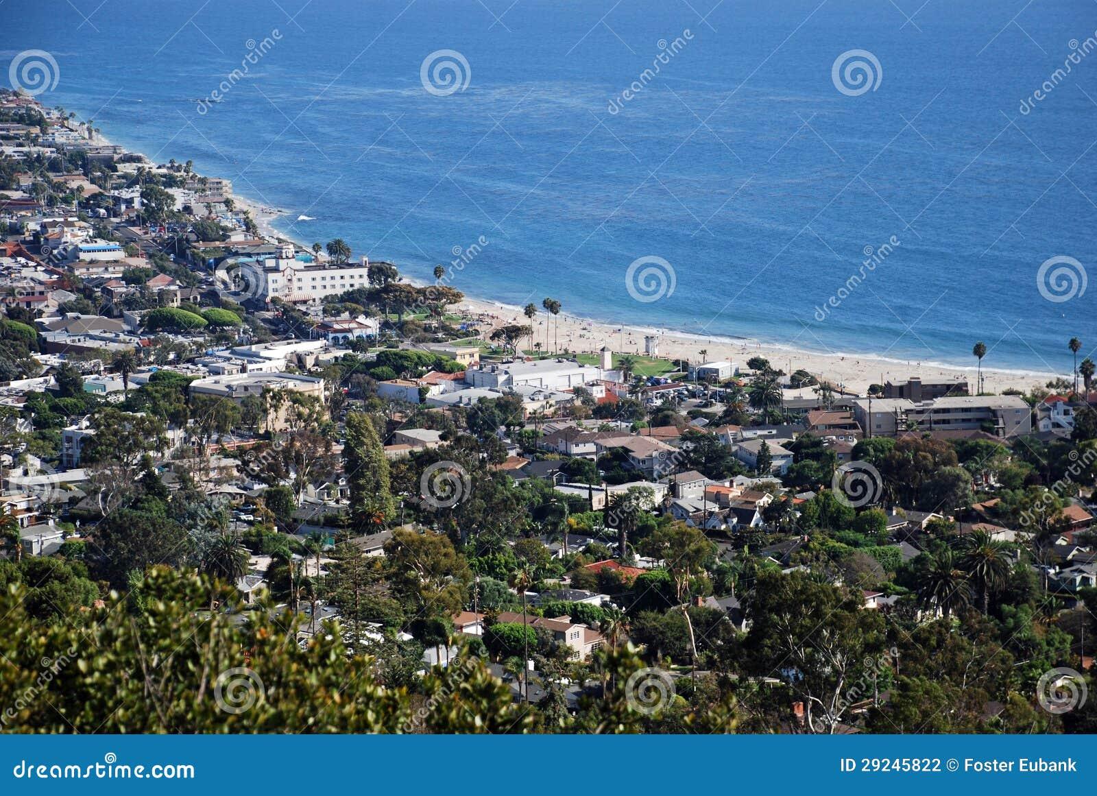 Download Hotel Laguna No Laguna Beach, Califonria Foto de Stock - Imagem de edifício, scenic: 29245822