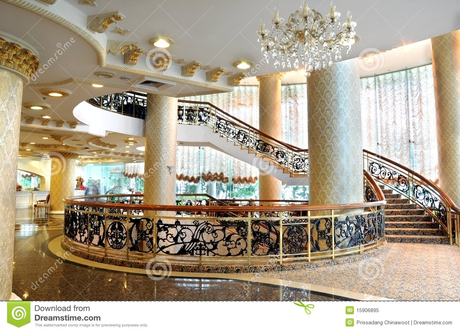 Hotel Lobby Royalty Free Stock Photo - Image: 15906895