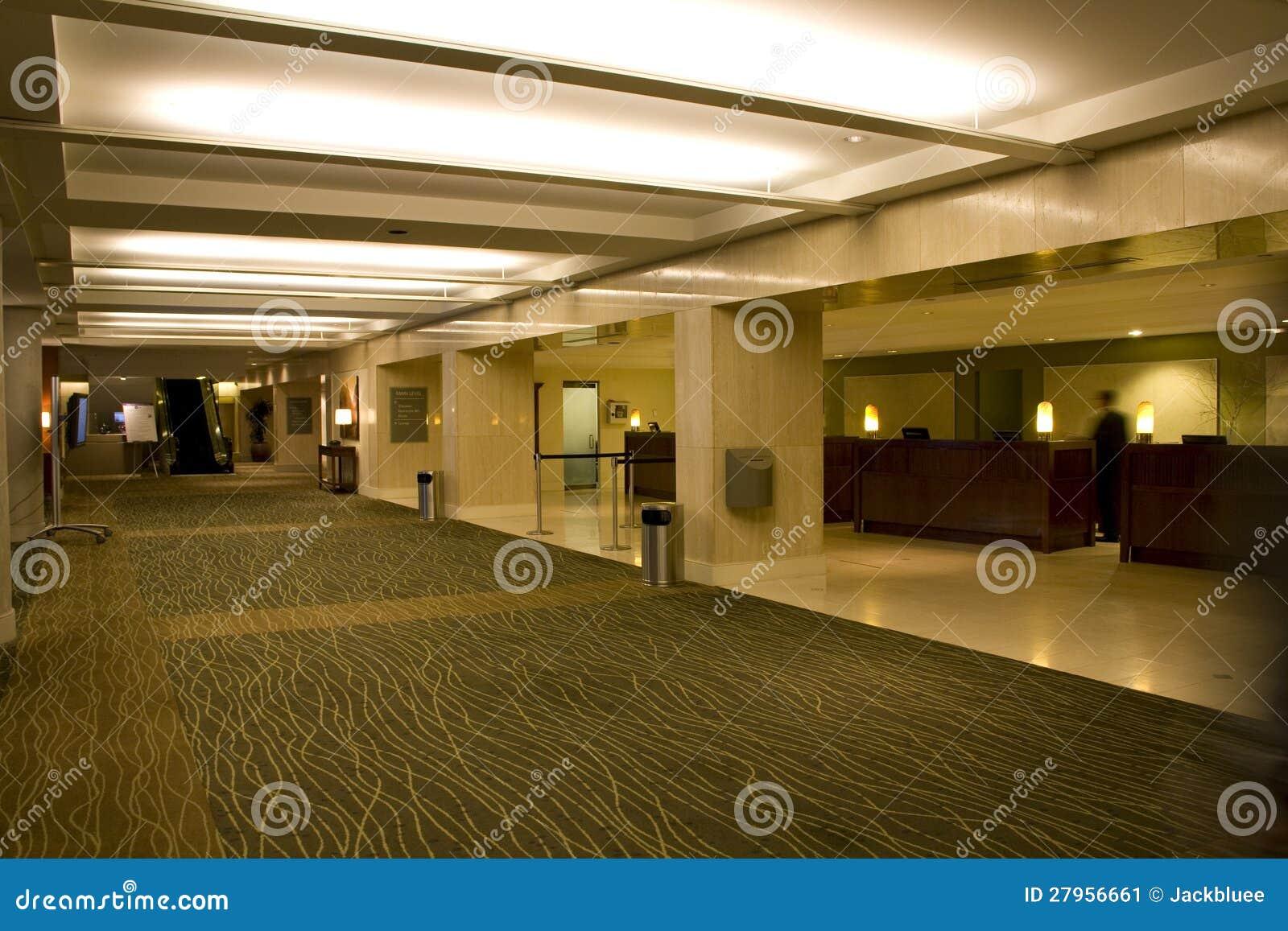 Hotel Lobby Front Desk Stock Image Image 27956661