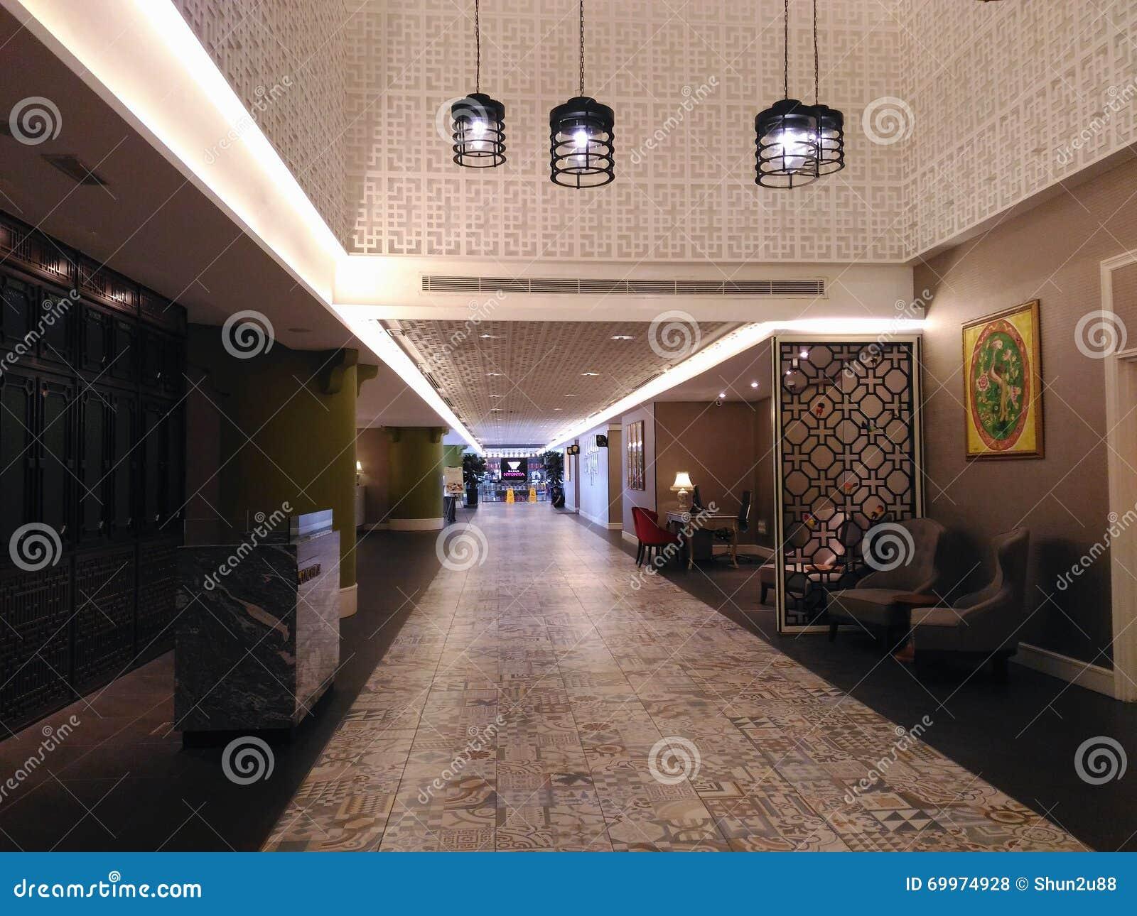 Hotel Lobby Interior Editorial Image