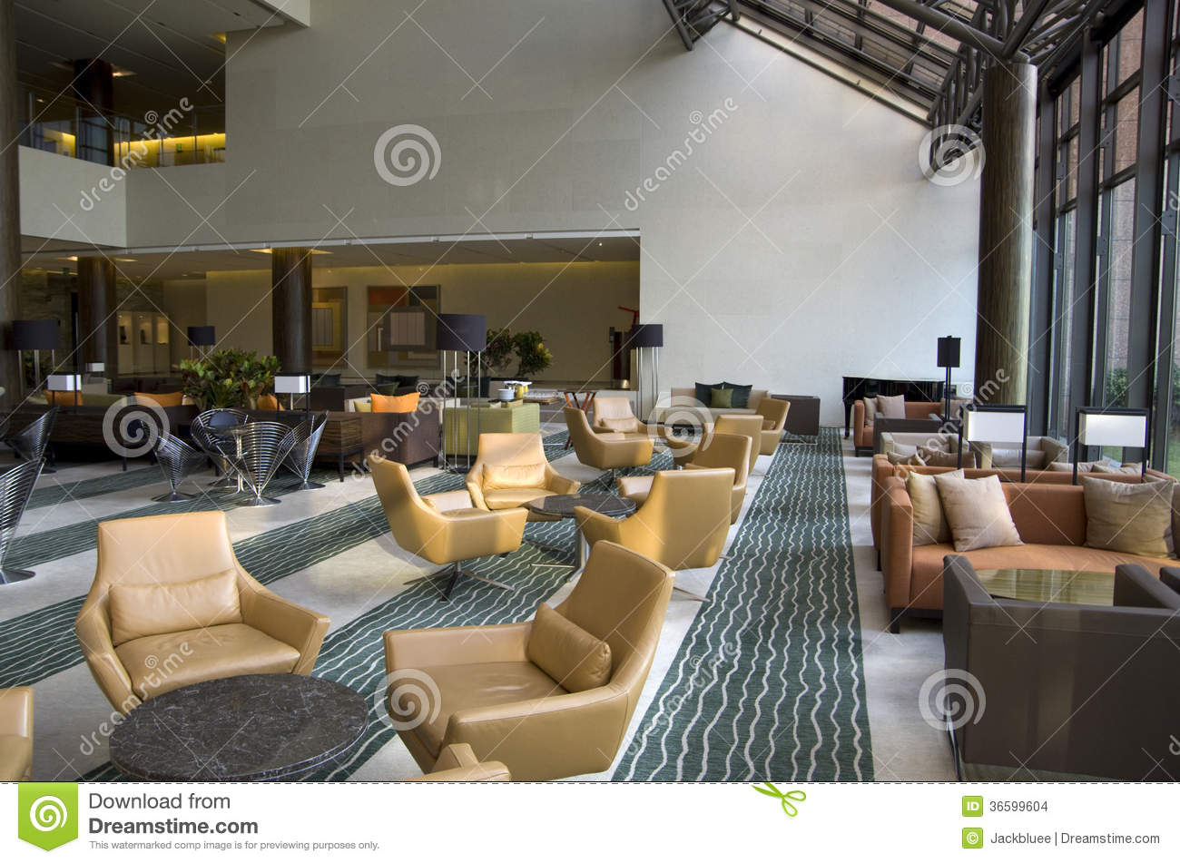 Hotel lobby lounge bar stock photo. Image of lounge, grace ...
