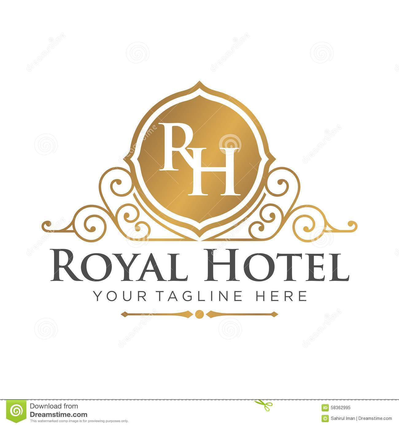 Hotel invitation vector image collections invitation for Hotel logo design samples