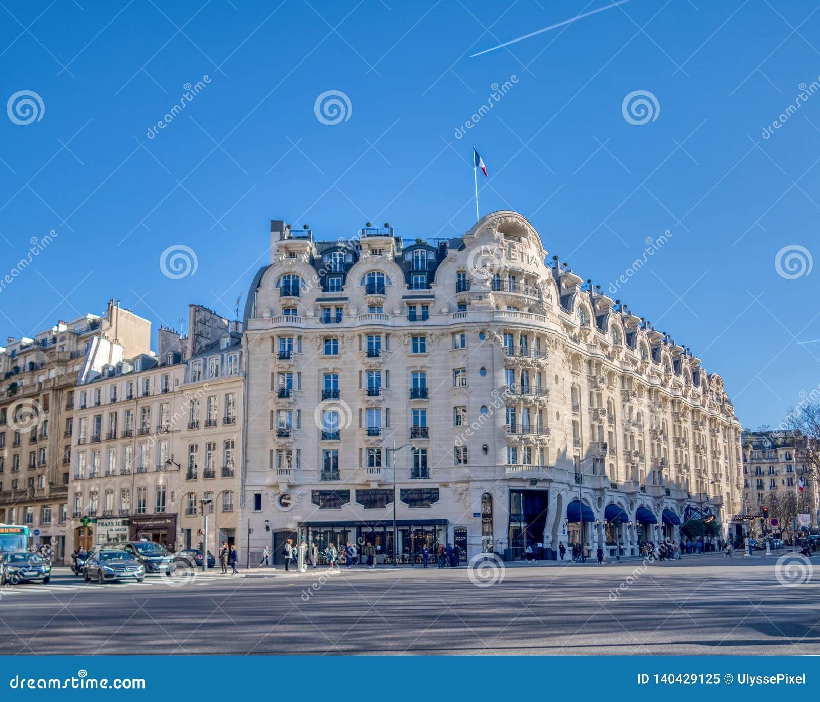 Hotel Lutetia Paris France Editorial Image Image Of Deco