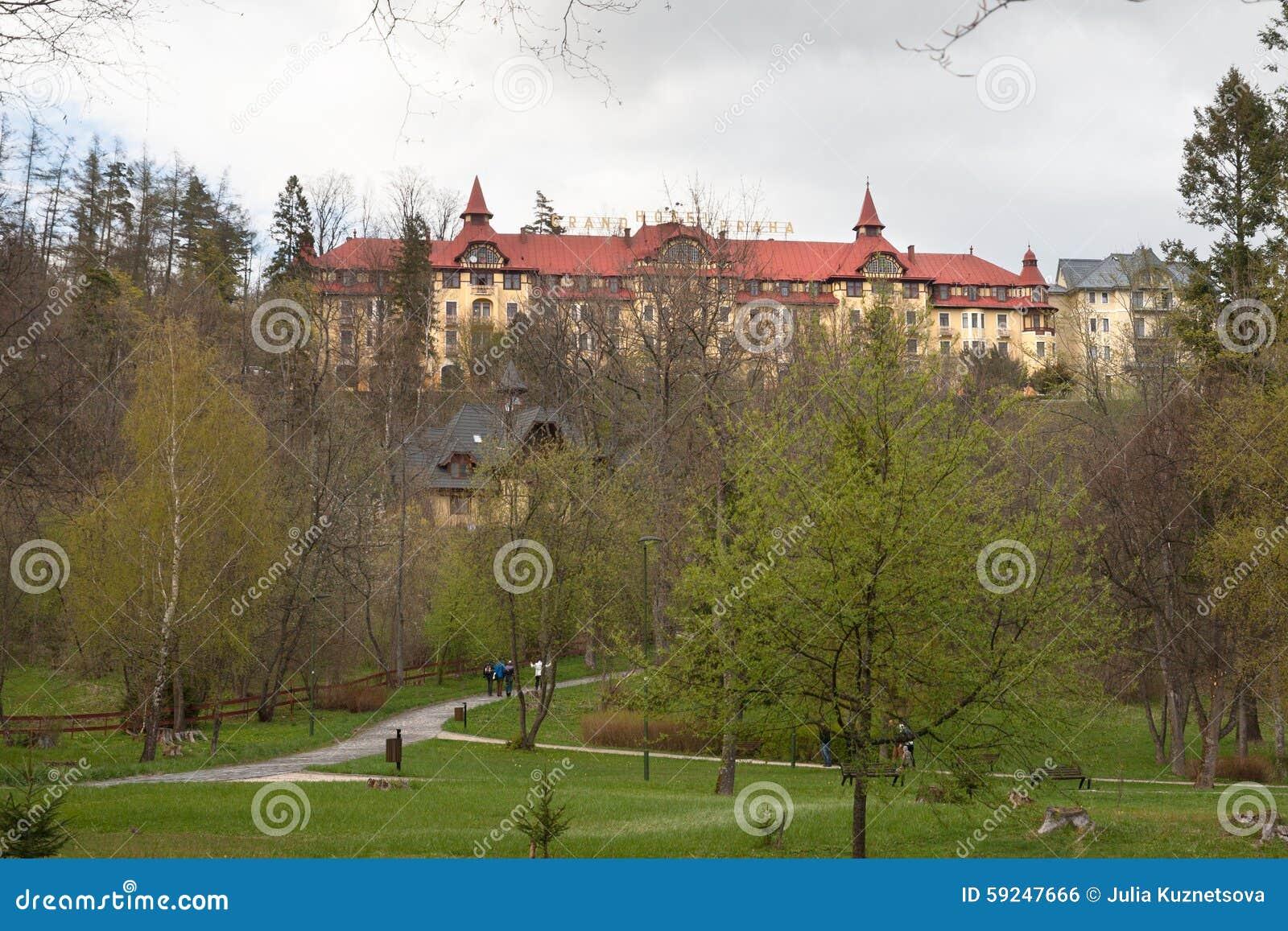 Hotel magnífico Praga en Tatranska Lomnica