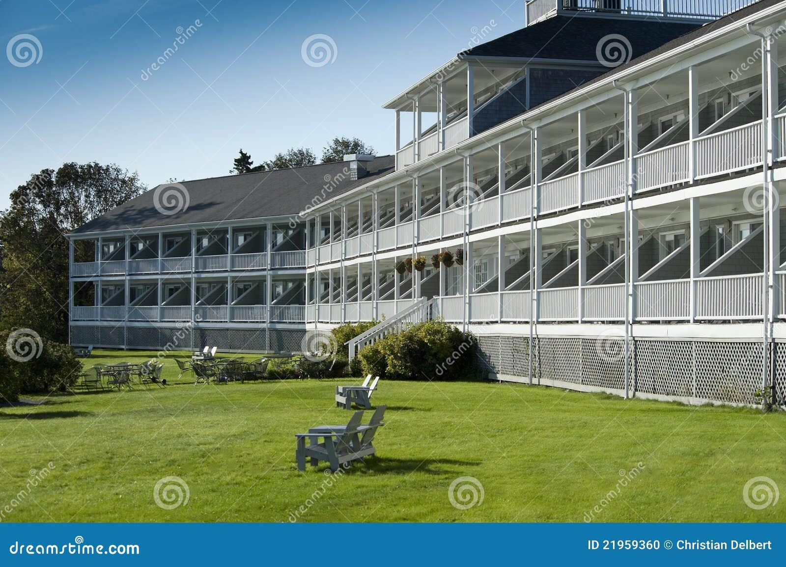 Hotel of motel
