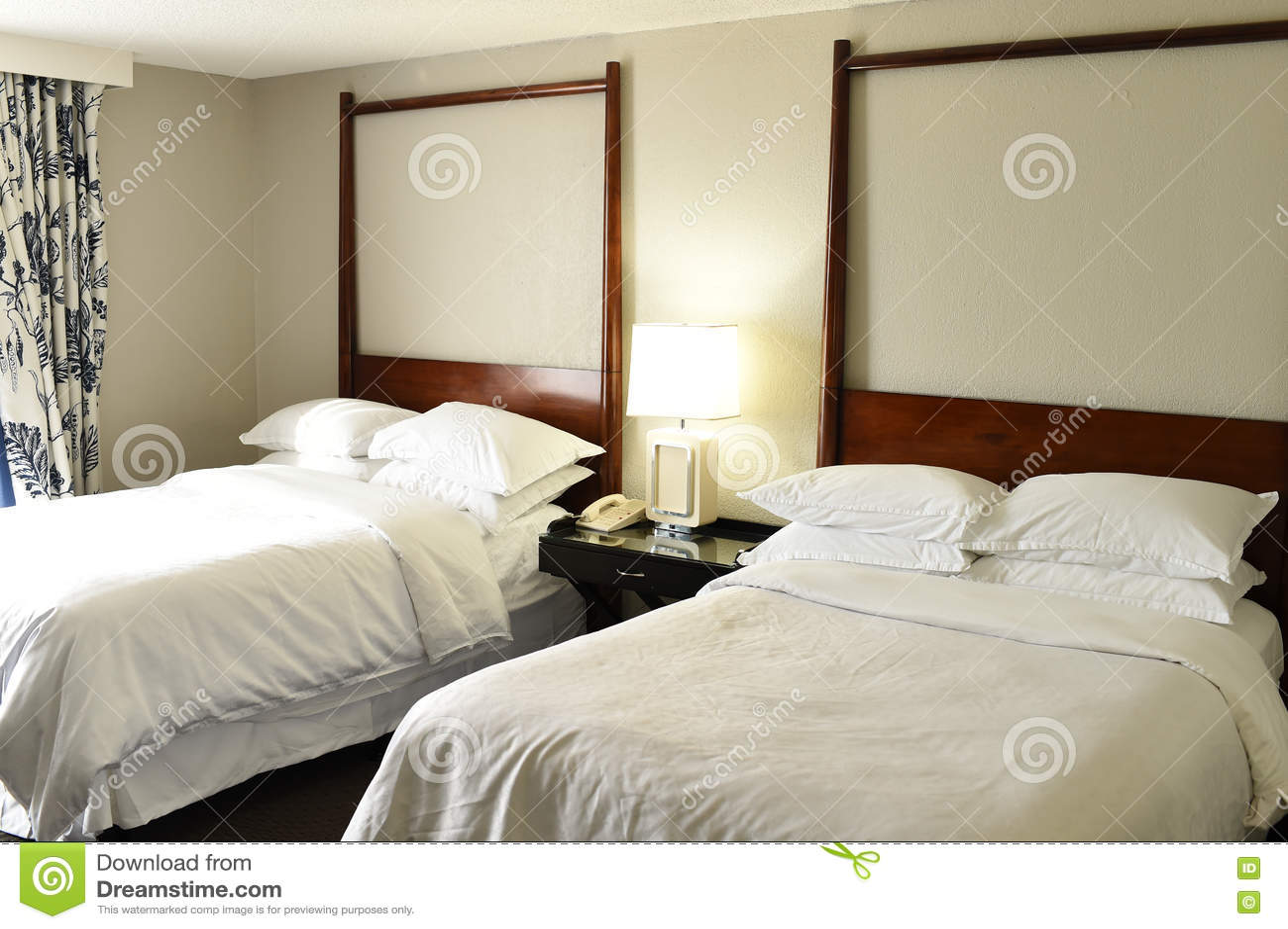 Hotel of motelslaapkamer
