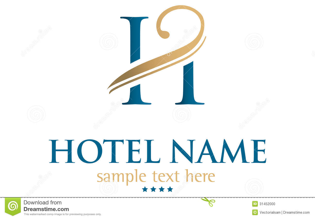 Hotel name stock photo image 31452000 for Hotel logo design