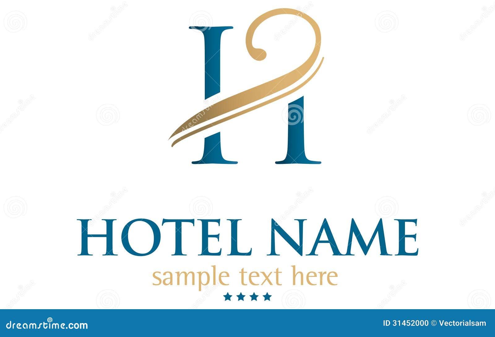 Hotel name stock photo image 31452000 for Design hotel logo