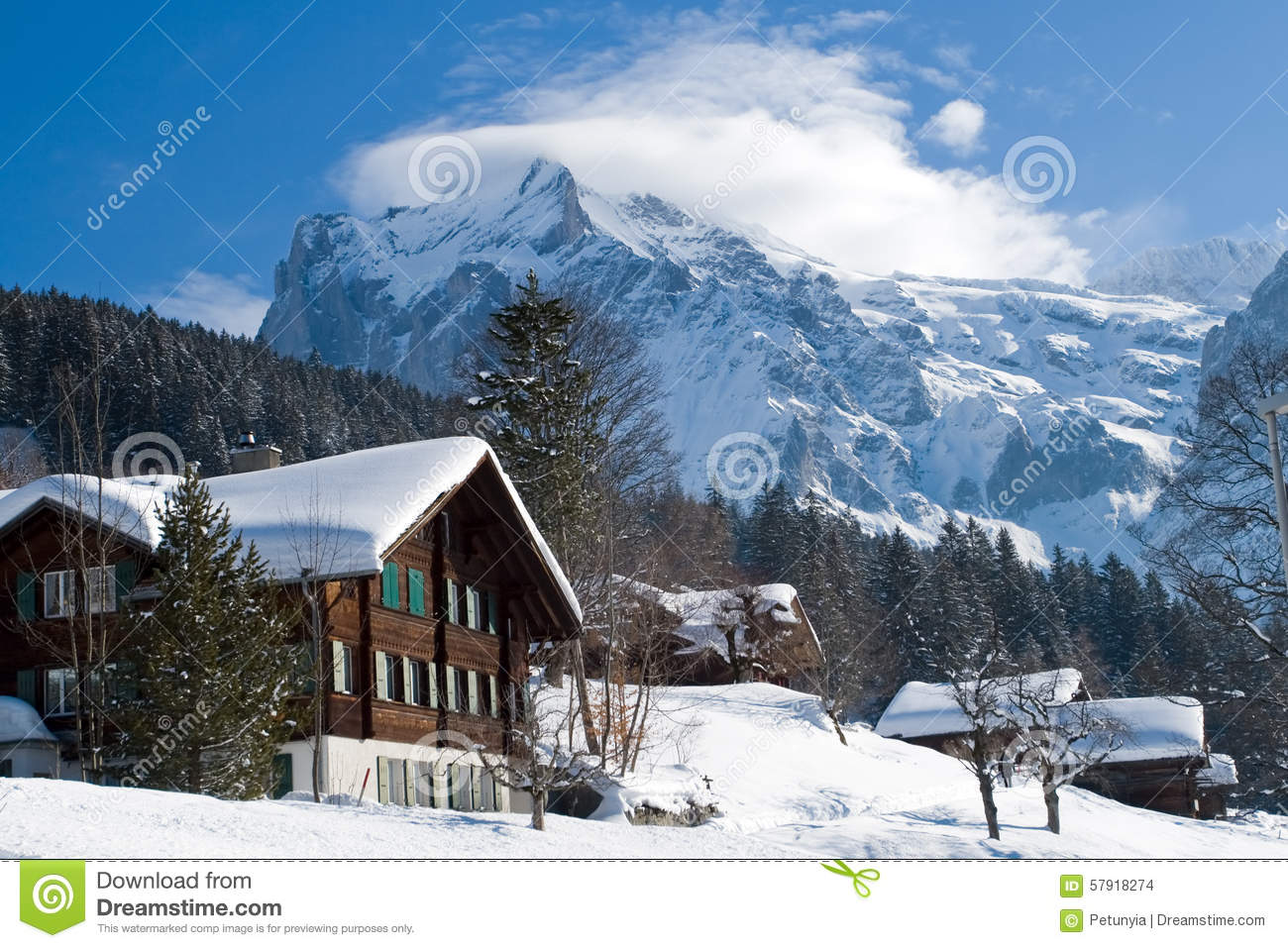 Hotels in Switzerland - winter and cold at all