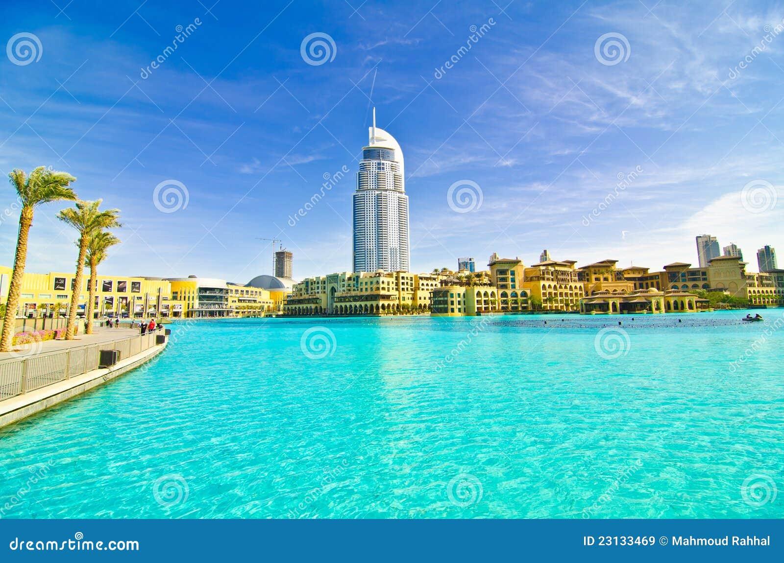 Hotel Near Khalifa Tower Editorial Stock Image Image