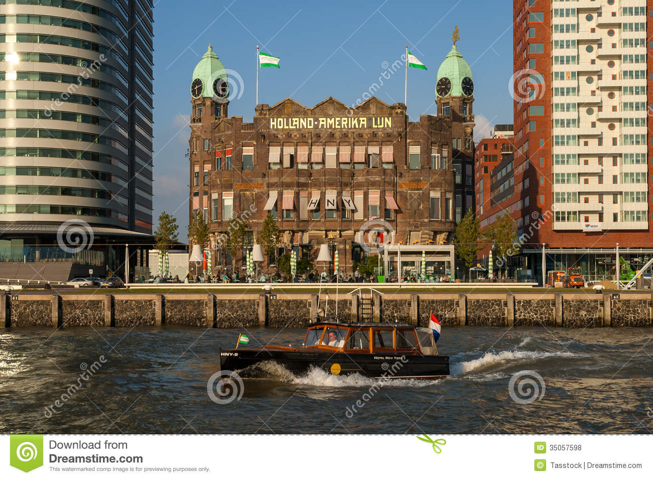 hotel new york in rotterdam netherlands editorial stock photo image of europe. Black Bedroom Furniture Sets. Home Design Ideas