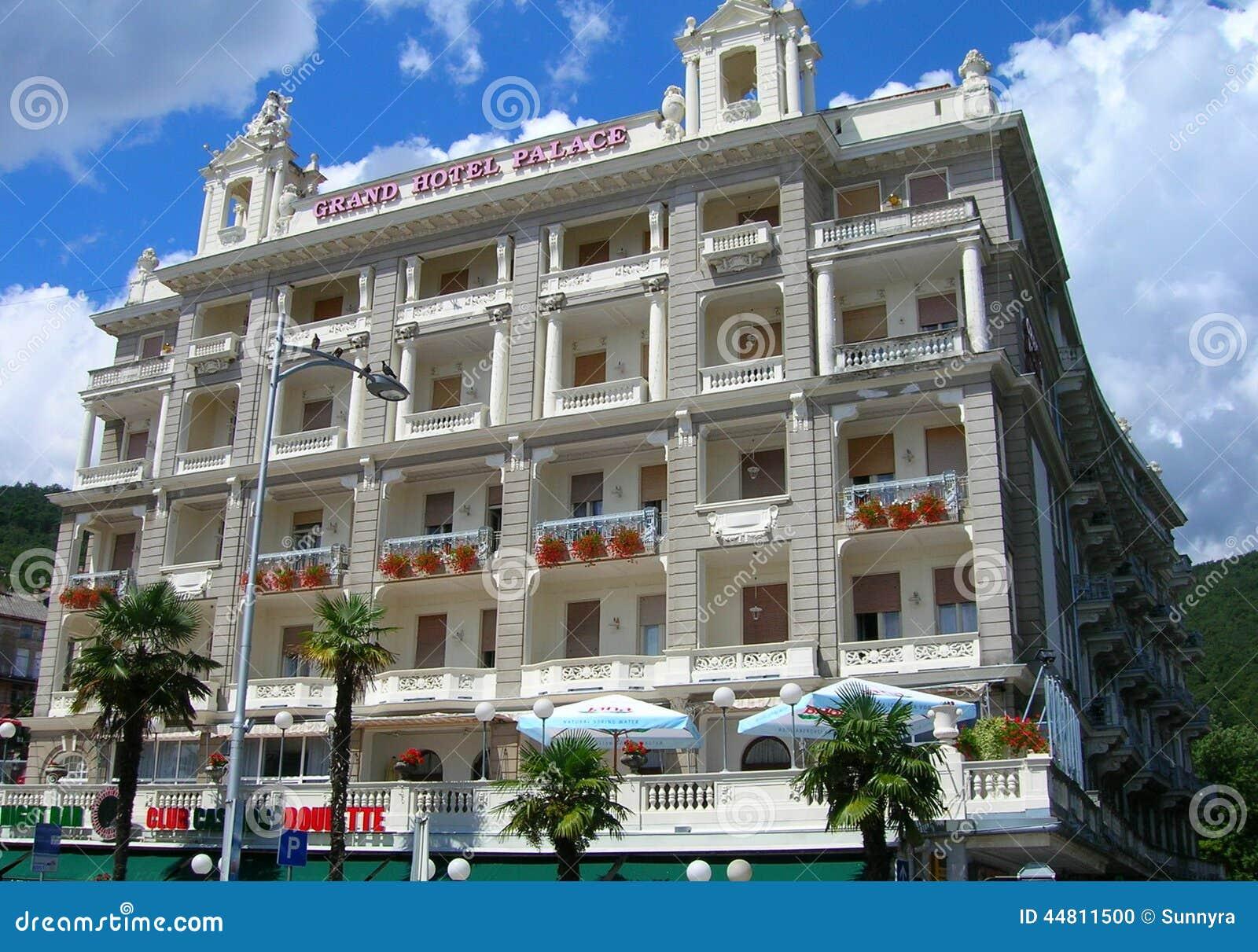 Hotel in opatija croatia editorial image image 44811500 for Design hotel opatija croatia