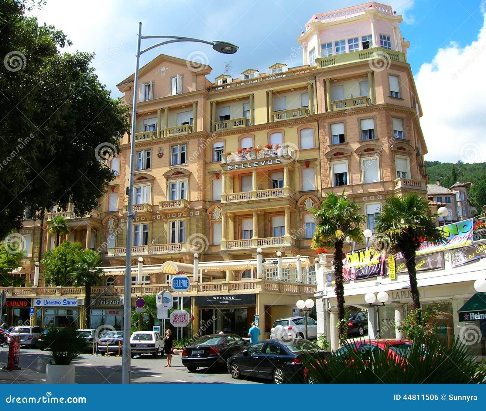 Hotel in opatija croatia editorial photo image 44811506 for Design hotel opatija croatia