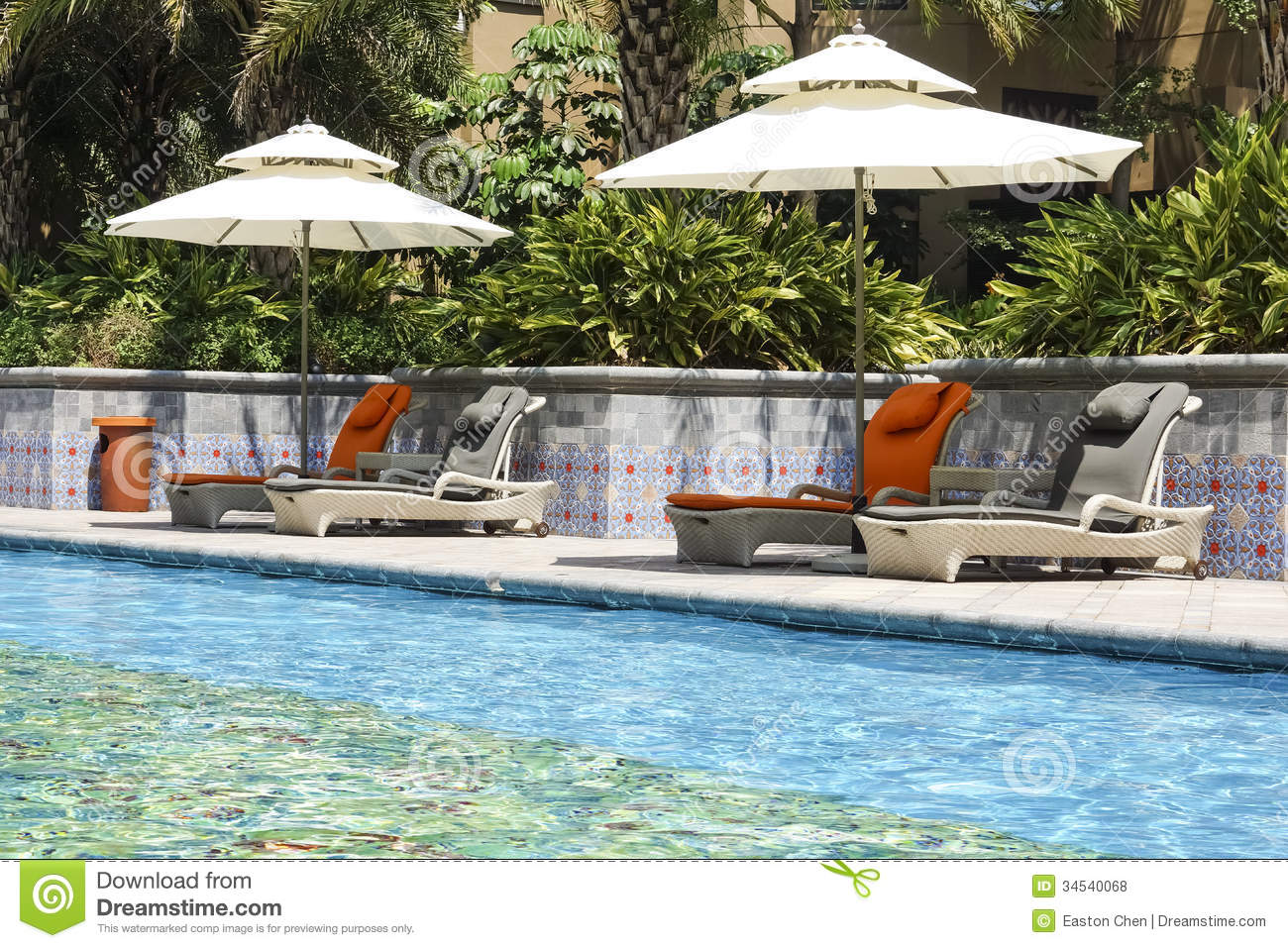 The Hotel Outdoor Swimming Pool Royalty Free Stock Photos Image 34540068