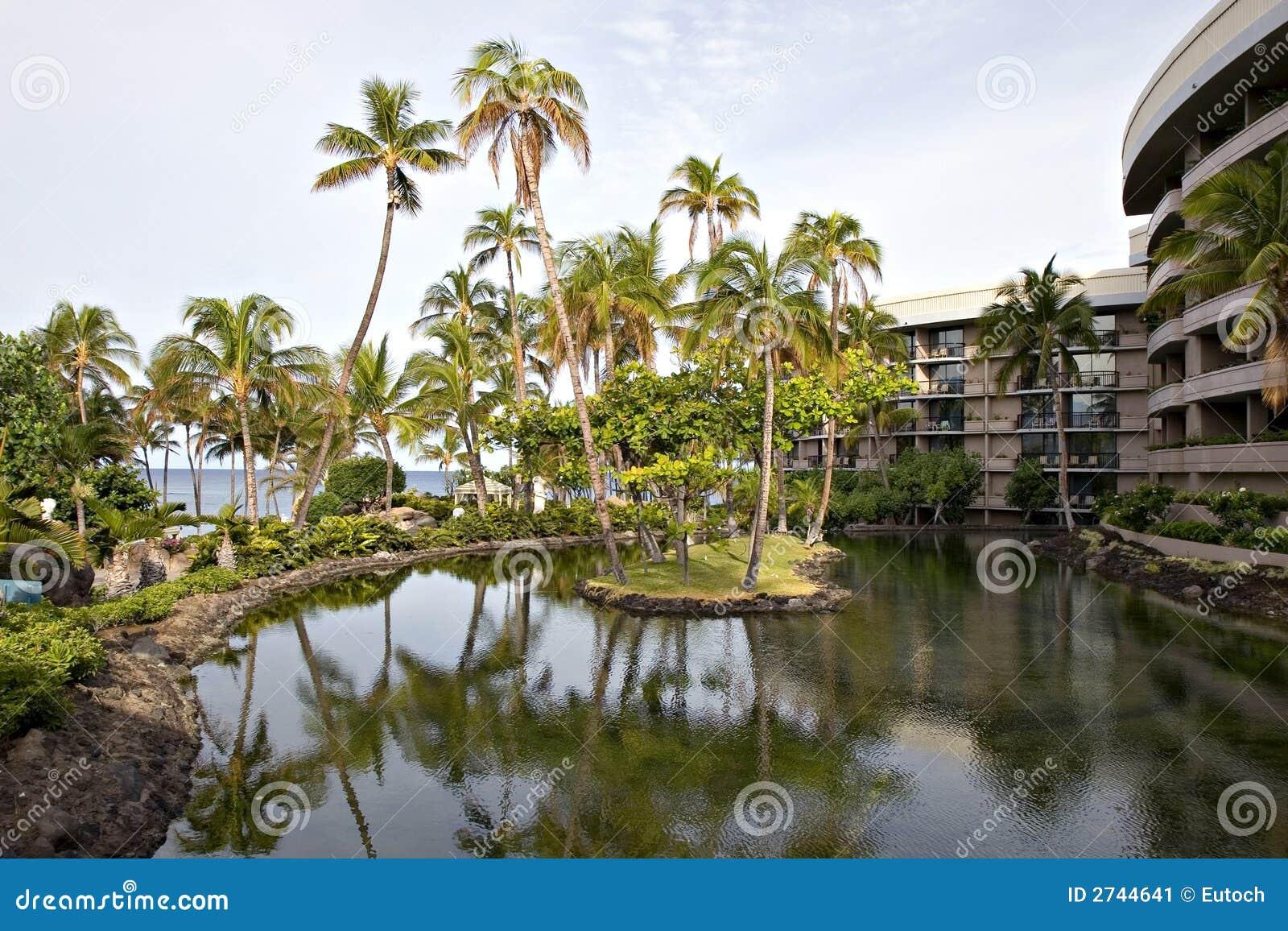 Hotel park hawajczyka