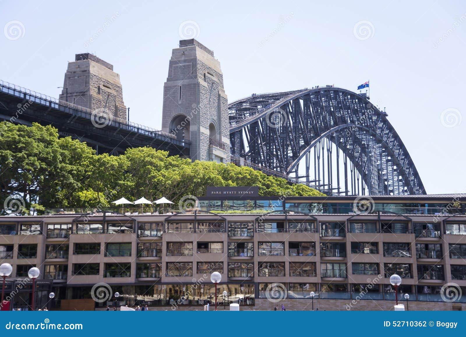 Hotel Park Hyatt Sydney Editorial Photography Image Of Harbor