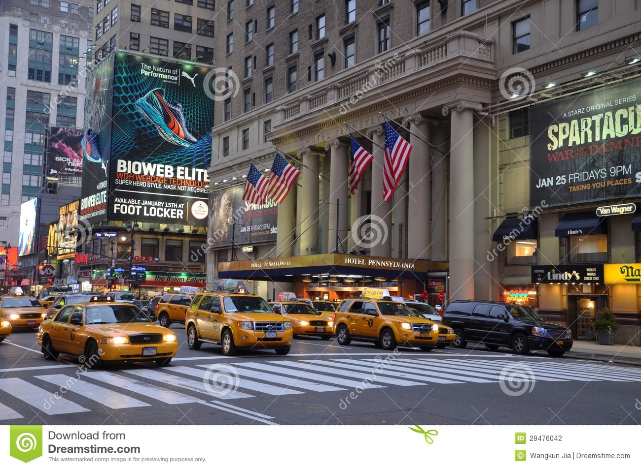Where Is Hotel Pennsylvania In New York