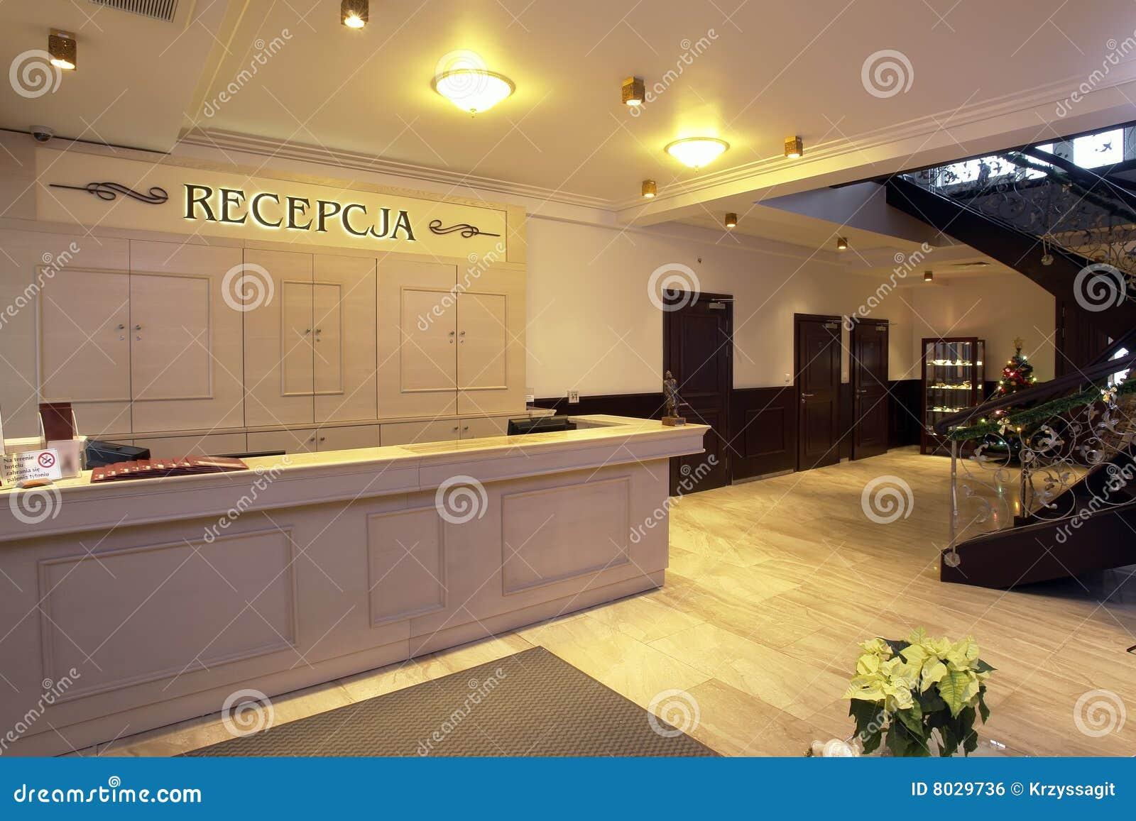 Hotel Reception Desk Royalty Free Stock Image Image 8029736